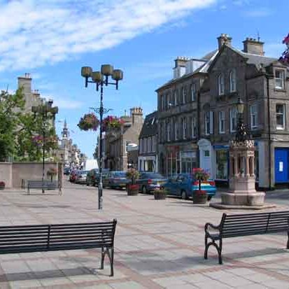 Nairn town square
